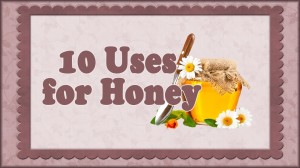 use honey