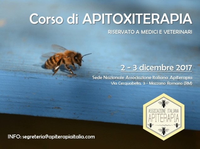 locandina apitoxiterapia