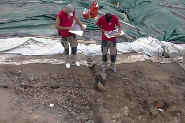 scavi forcello